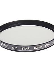 ZOMEI Camera ottici professionali cornice stelle 6 Filter (62 millimetri)