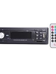 STC 1007U LCD couleur Car Audio Player Haut-parleur w / FM / USB / SD - Noir + argent