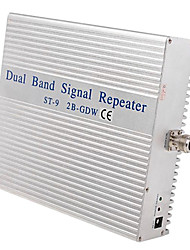 2GGSM900 3G 2100mhz Dual band signal repeater amplifier coverage 1000m2