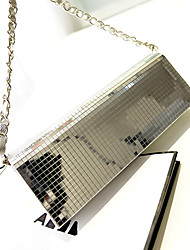 N-PAI Damesmode Dimonade Chain Bag (zilver) 49