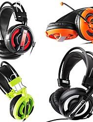 e-3lue 007 casque sur l'oreille jeux avec microphone pour pc