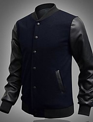 Men's Fashion  Stitching Jacket