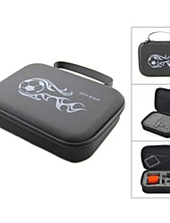 2014 FIFA World Cup Brazil Protective EVA Camera Storage Bag for GoPro HD Hero 3+ / 3 / 2 - Black+White