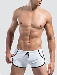 Men's Elastic/Spandex Swim Shorts