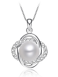 Pure Women's 8-9mm Natural Pearl 925Silver Pendant Excl.Chain PE0113W027280