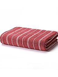 1 trozo de algodón hilado teñido toalla de baño