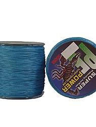 22-40LB 500M PE Braid Blue Line Pesca