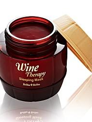 [Holika Holika] Wine Therapy Sleeping Pack 120ml (Moisturizing, Wrinkle Care, Whitening) Red Wine (Anti-Wrinkle)
