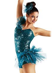 Jazz Pretty Sequin & Spandex Jazz/Modern Dance Dress For Kids and Ladies