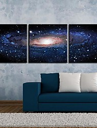 Stretched Canvas Art Fantasy Sky  Set of 3