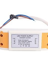 (12-18) x1W LED Driver Power Source Converter für Deckenleuchte (30-60V, 300mAh)
