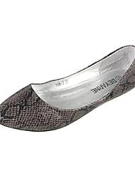 Leatherette Women's Flat Heel Ballerina Flats Shoes(More Colors)