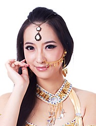 Belly Dance Accessory Nose Chain with Coins & Bells