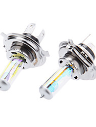H4 60/55W 12V Car Halogen Light Bulb Filled with Xenon Yellow Light