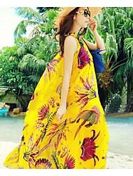 Women's Holiday Bohemian Beach Long Maxi Dress