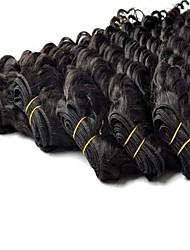 Best  Quality  Brazilian Deep  Wave Weft 100% Virgin Human Hair Extensions 28 Inch 3Pcs