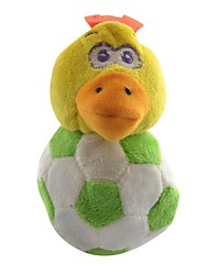Football poulet Body style peluche molle joue avec la corde de queue pour Animaux Chiens Chats