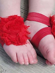 Children's Barefoot Flower Sock Sandals Shoe (For 6 months to 2 years kids)