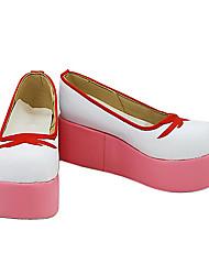 Card Captor Sakura Sakura Kinomoto Pink & White Plataforma Cosplay Shoes