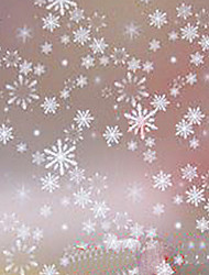 Modern Classic Winter Is Coming White Snow Flake Window Film