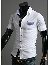 Men's T-Shirts , Cotton Casual Shishangqiyi