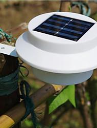 Nueva 3 llevó la energía solar cerca del jardín Luz al aire libre Patio pared Gutter Camino de la lámpara