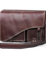 Мужская натуральной кожи Business Messenger плечо ремень сумки