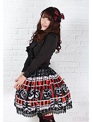 Pretty Lolita calabaza de Halloween Monsters Princesa Kawaii Falda encantadora Cosplay