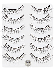 6pcs Coolflower yeux Fin Strenched cils