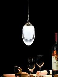 Mini Egg-Shaped Chandelier 3W Branco Quente Branco / Frio para sala de estar e de jantar