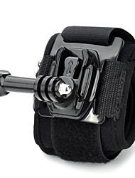 TOZ TZ-GP123   New Arm Bands Wrist Strap with Mount bases+Long Screws for GOPRO HERO 3+ / 3 / 2 / 1  black
