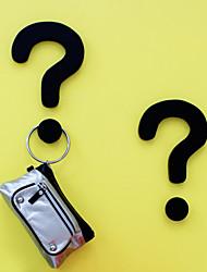 Novidade criativa Question Mark Forma Ganchos de parede