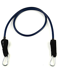 6 # Latex Fitness Trainings Stretch Pull Rope - Blau