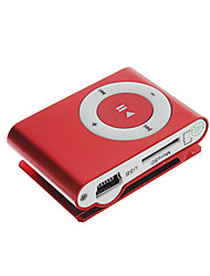 Tf lector de tarjetas Mini Digital MP3 Player con Clip