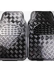 All Weather Rubber Mat 5 Pc Pads piso del coche tapetes Delantero Trasero