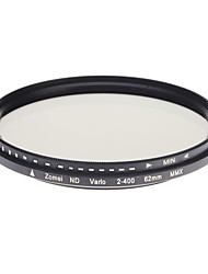 Filtre Zomei Professional Camera Super mince ND-Filter HD verre (62mm)