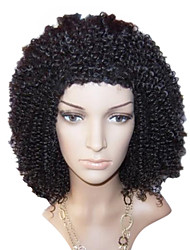 14 Inch African American Wigs Culry Hair Lace Frontal Wig Adjustable Cap  More Colors Available