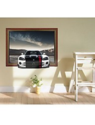 Wall Stickers 3DThe Sports Car Stickers murali