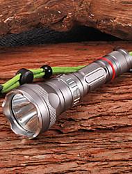 Torce da immersione (Impermeabili / Ricaricabile / autodifesa) - LED 5 Modo 1200 Lumens 18650 Cree XM-L U2 Batteria Altro