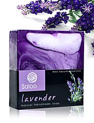 Tailândia Saboo Handmade Lavender Essential Oil Soap Whitening Hidratante 100g Anti-Acne