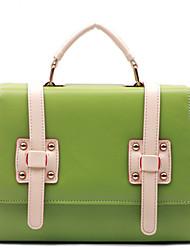 INLEELA Basculer une épaule Messenger Bag (Vert)