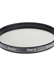 ZOMEI Camera ottici professionali cornice Stelle 4 Filter (55 millimetri)