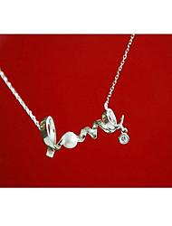 Putizi Любовные письма Короткое ожерелье (серебро)