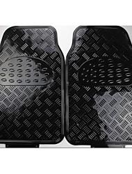 Heavy Duty All Weather Rubber Negro Mat 5 Pc Pads piso del coche tapetes Delantero Trasero
