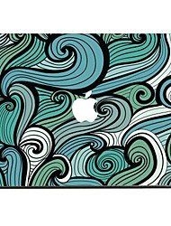 The Sea Wave Decorative Skin Sticker Set for MacBook Pro