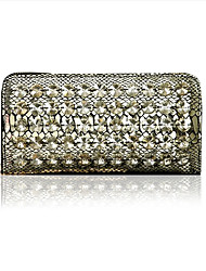Glass Wedding/Special Occasion Wristlets/Evening Handbags(More Colors)