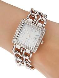 Style vestimentaire Steel Band bracelet à quartz pour femmes (couleurs assorties)