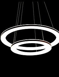 Acrylic Pendant,111light, Modern Chic Stainless Steel Plating