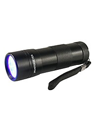 Lights LED Flashlights/Torch / Black Light Flashlights/Torch / Handheld Flashlights/Torch LED Lumens 1 Mode 5mm Lamp AAAWaterproof /