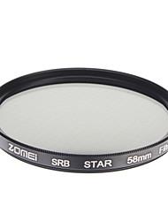 ZOMEI Camera ottici professionali cornice Stelle 4 Filter (58 mm)